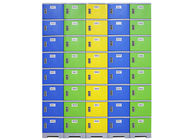 China Bedroom Plastic Clothes Locker , Customized Color Plastic Employee Lockers factory