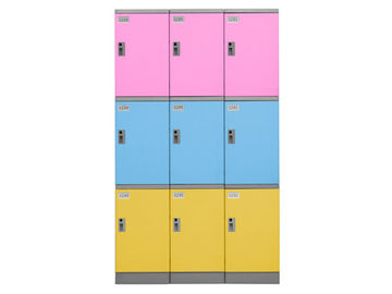 China Moisture Proof Abs Plastic Locker Long Service Life For Gym Changing Room distributor